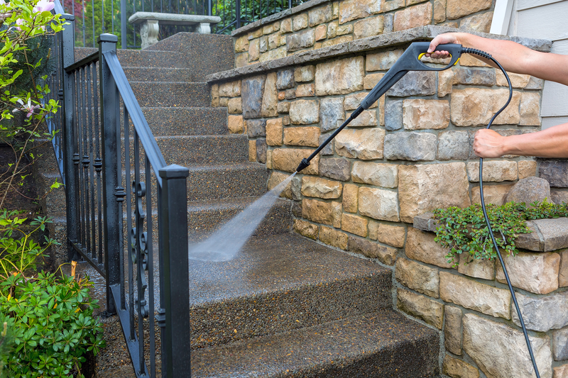 Pressure Washing - Regency Cleaning - Commercial Cleaning Calgary