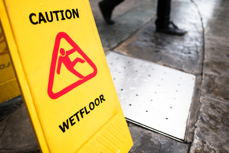 Preventing Slips and Falls in the Workplace - Regency Cleaning - Commercial Cleaning Calgary
