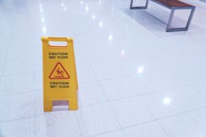 Preventing Slips and Falls in the Workplace - Regency Cleaning - Commercial Cleaning Company - Featured Image